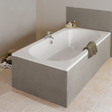 Baignoire rectangulaire duo LA COLLECTION