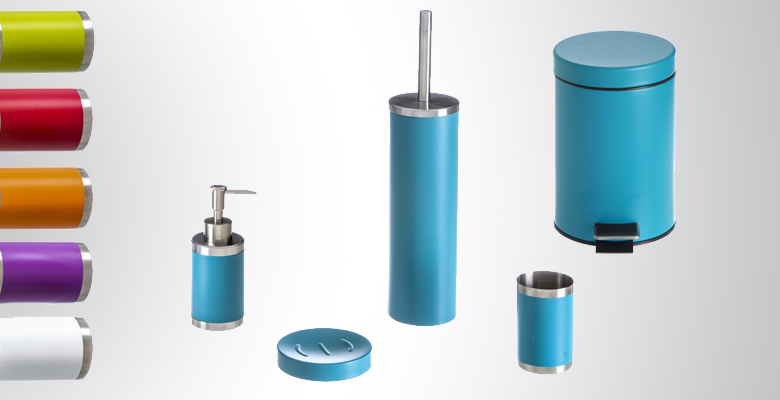 Accessoires salle de bain turquoise for Fly salle de bain accessoires