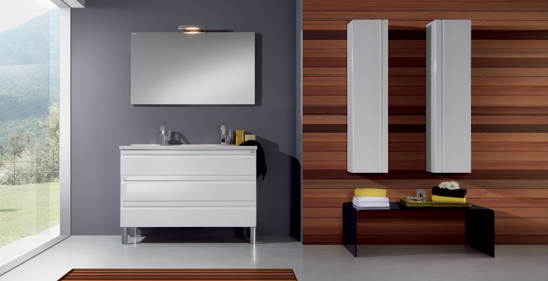 meuble de salle de bains accent 3 allibert belgique. Black Bedroom Furniture Sets. Home Design Ideas